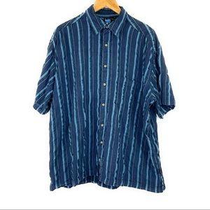 Kuhl Textured Short Sleeve Button Down Shirt
